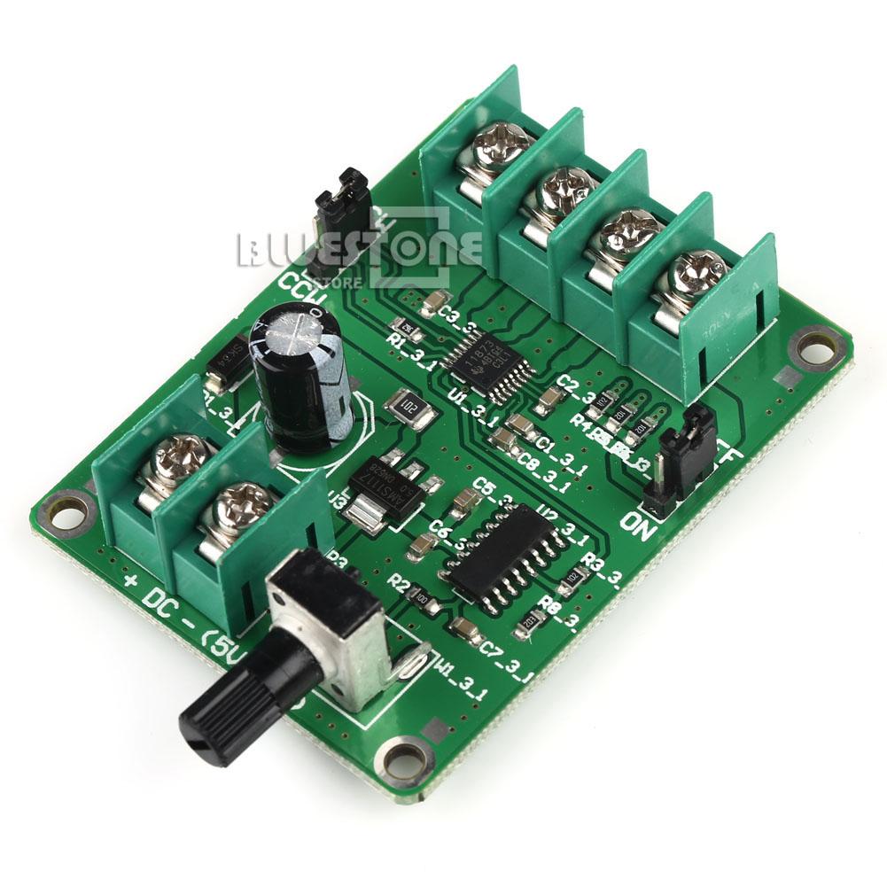 5v 12v Dc Brushless Motor Driver Board Controller For