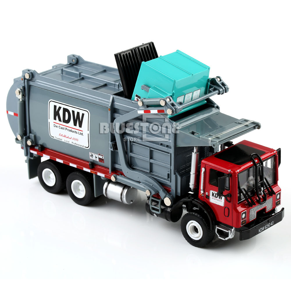 18 Toy Trucks : New pc scale diecast material transporter garbage