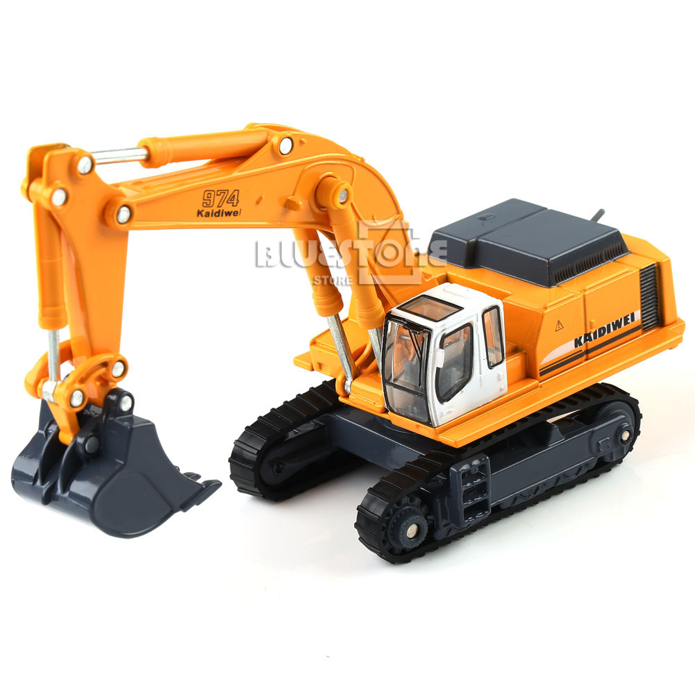 Toy Construction Equipment : Kaidiwei scale diecast excavator construction