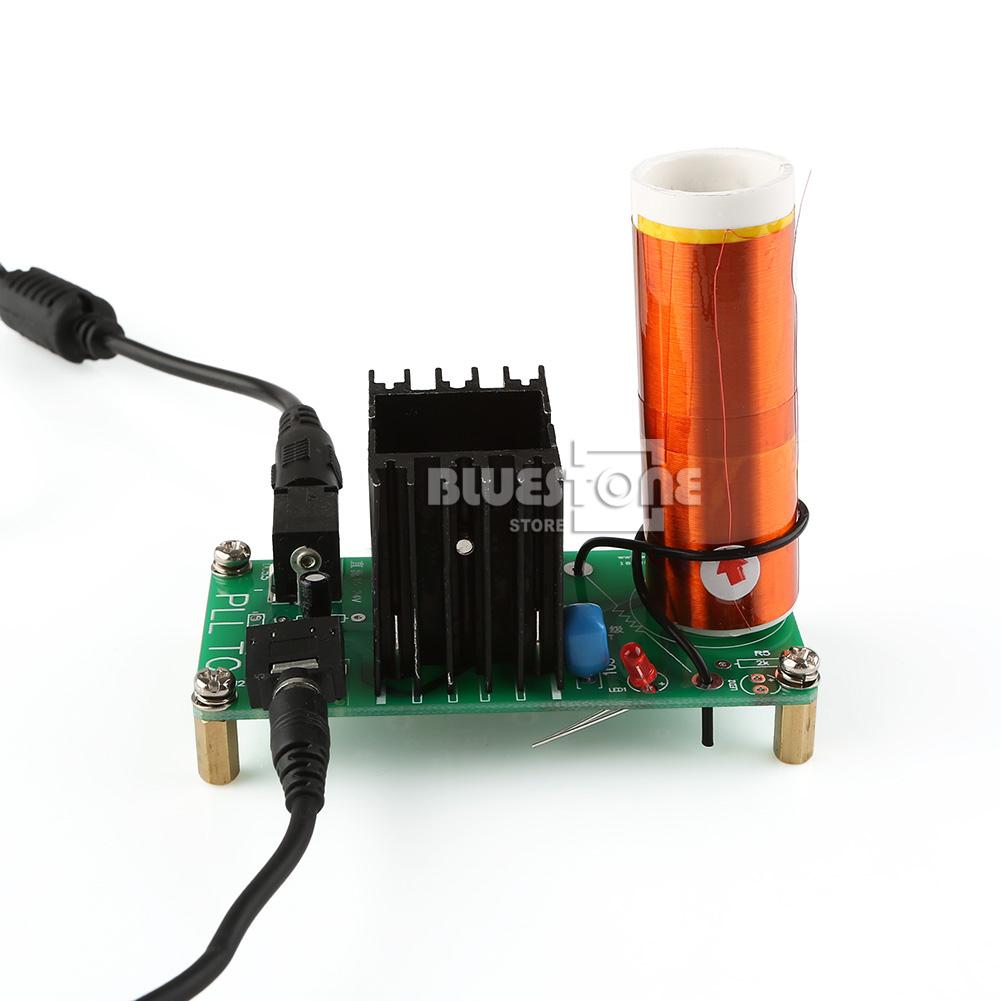 Kits 15W Tesla Coil Mini Plasma Speaker DC 15-24V Wireless ...