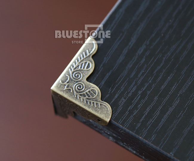 12pcs Antique Iron Corner Protector Guard for Jewelry Wine Gift Box Wooden Case 6 • £1.58