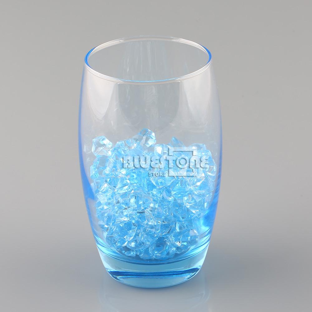 150pcs clear acrylic crystal ice rock stones aquarium vase for Aquarium vase decoration