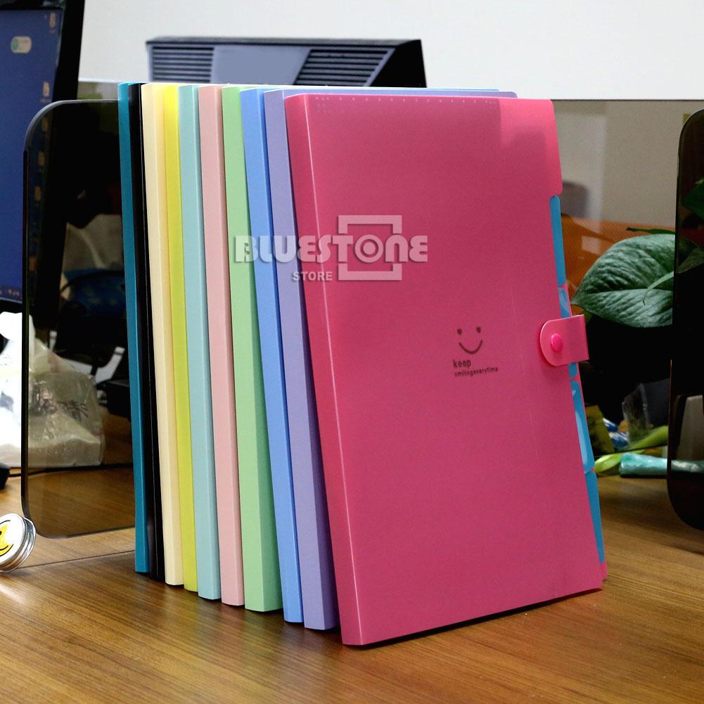 a4 plastic file document bag pouch bills folder card holder organizer fastener ebay. Black Bedroom Furniture Sets. Home Design Ideas