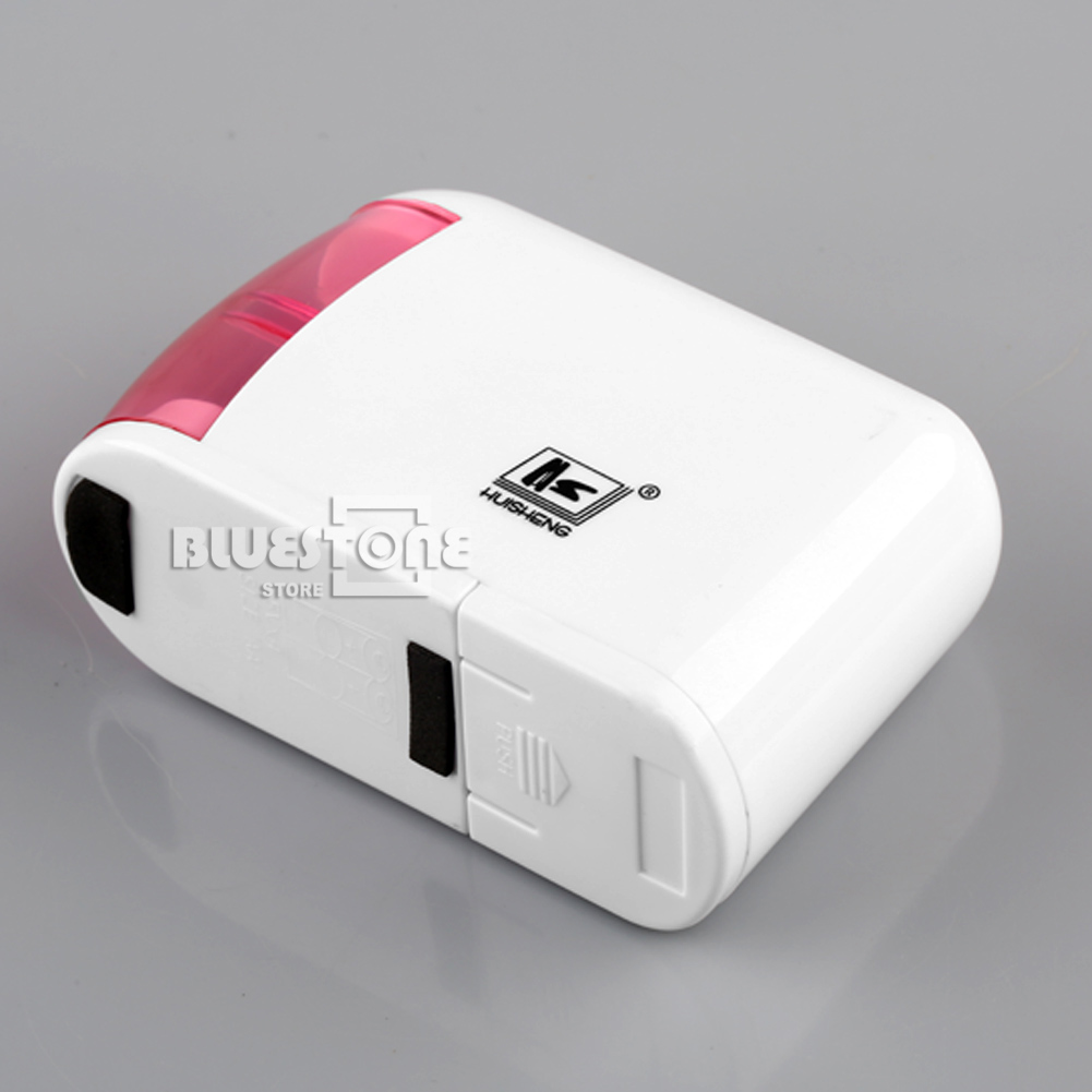 Pink Automatic Electric Battery Operated Desktop Pencil