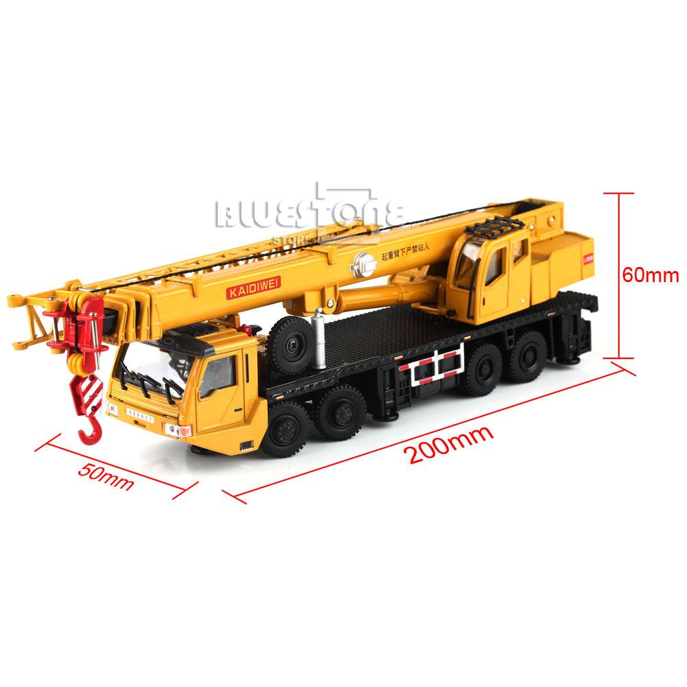 Toy Construction Equipment : Kaidiwei construction equipment crane car diecast