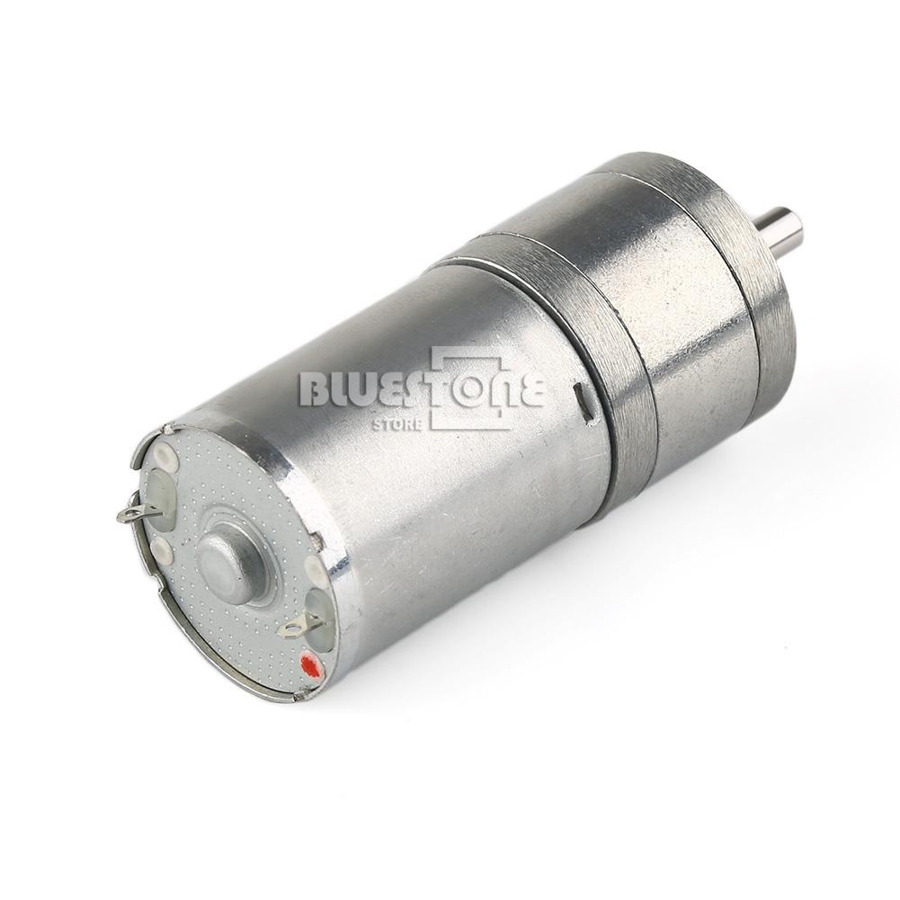 New 1000rpm 12v High Torque Mini Electric Dc Geared Motor