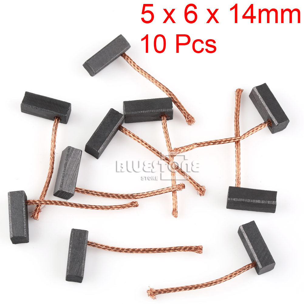 10 20pcs Carbon Brushes Replacement For Electric Drill