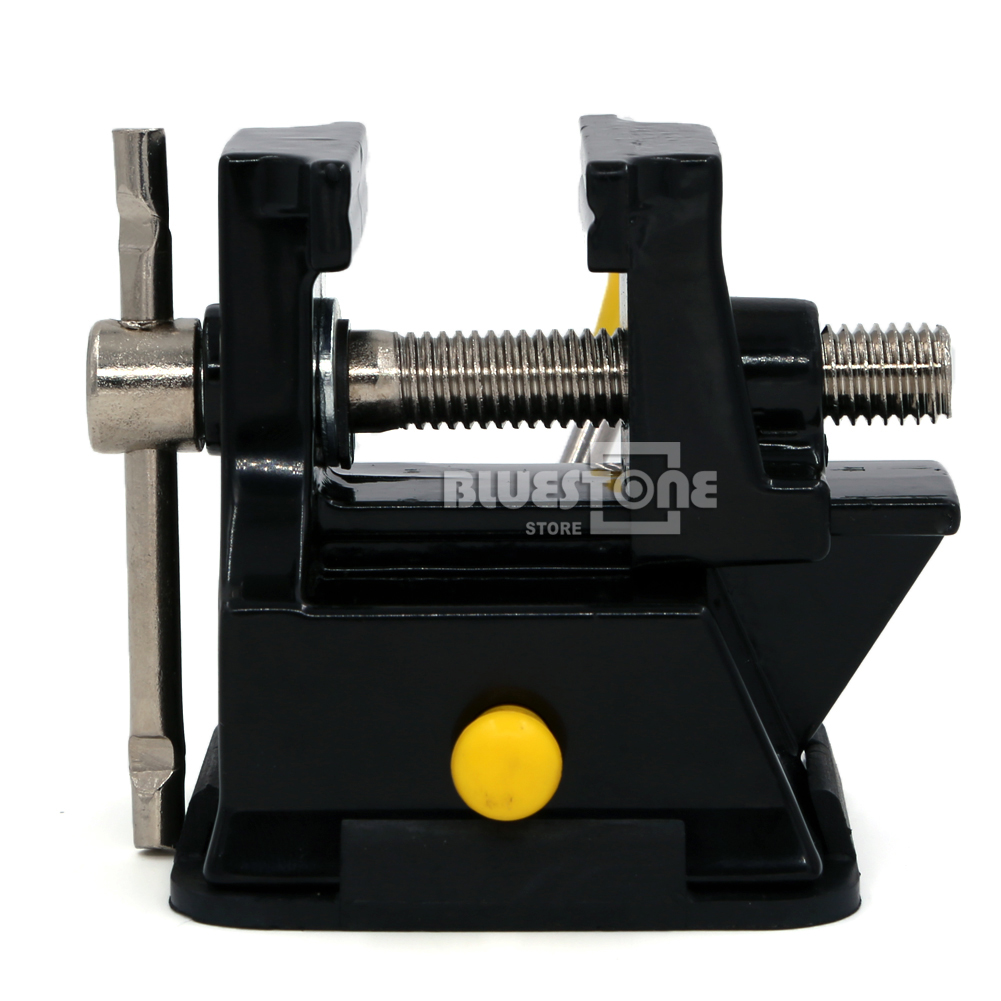 Mini Table Top Bench Vice Vise Press Clamp Rubber Suction