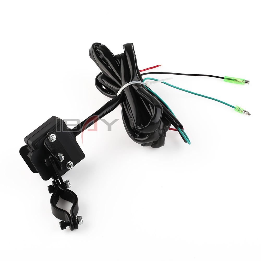 atv winch rocker switch wiring warn atv mini rocker switch wiring diagram control 2.4m atv/utv winch rocker switch handlebar control line ...
