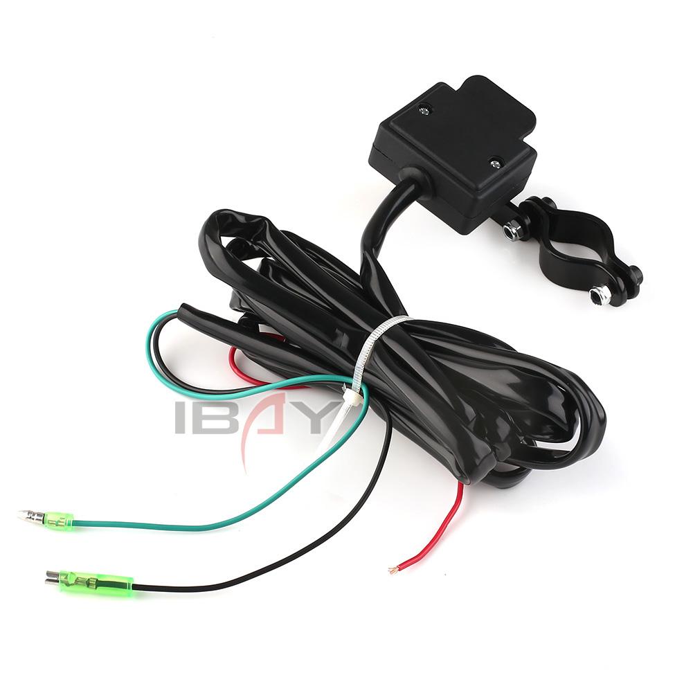 2.4m atv/utv winch rocker switch handlebar control line ... badland atv winch control switch wiring diagram #6