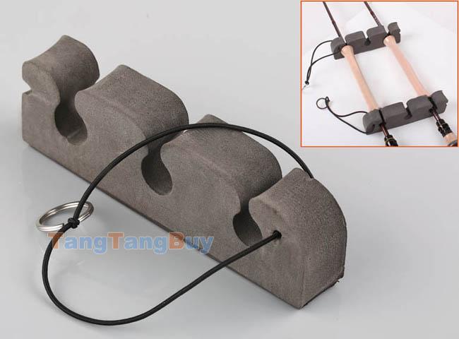1 set fly fishing rod holder magnetic portable car fly rod for Fishing pole holder for car