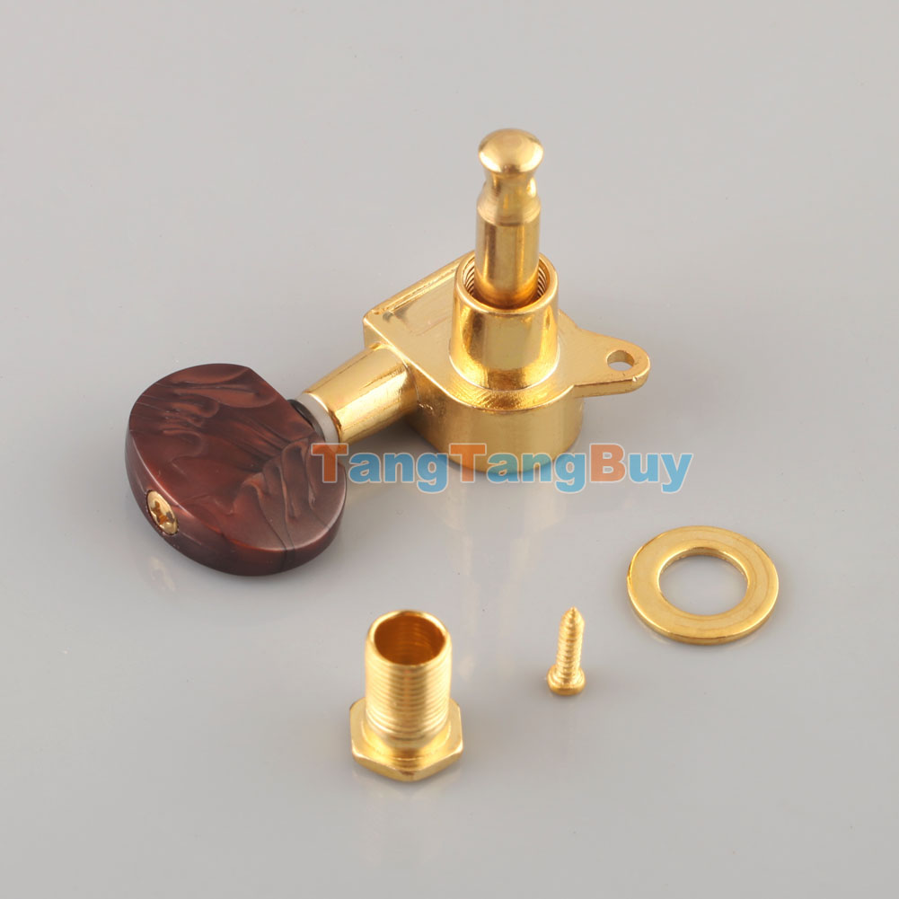 3r3l electric acoustic guitar sealed tuning keys pegs machine heads tuners gold. Black Bedroom Furniture Sets. Home Design Ideas