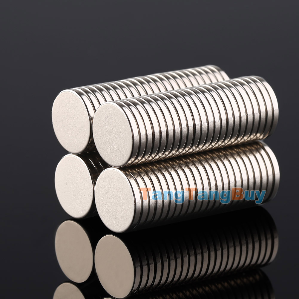 50pcs n52 strong circular disc neodymium rod magnets for Small round magnets crafts